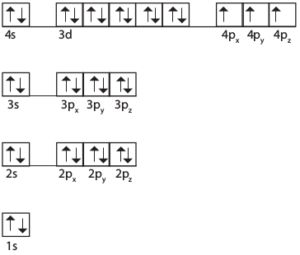 Arseenin elektronirakenne